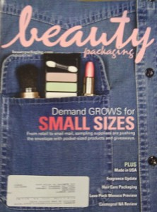 Beauty Packaging magazine