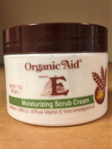 scrub cream